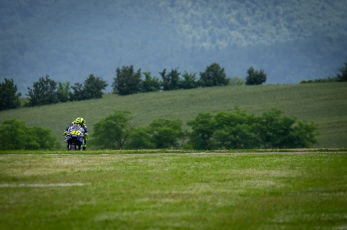 during Friday Free Practices in Mugello Circuit
