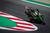 Jonathan Rea during race 1 in Misano