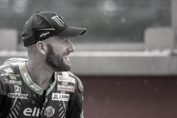 Tom Sykes during Friday free practices in Misano