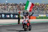 Andrea Dovizioso after MotoGP race in Misano