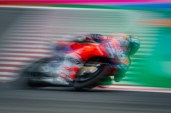 Andrea Dovizioso during Friday FP2 in Misano