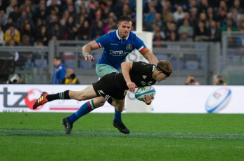 Rugby Test Match between Italy and All Blacks in Rome