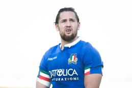 Michele Campagnaro - Cariparma Test match between Italy and Georgia (Stadio Artemio Franchi, Firenze)