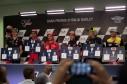 All riders during Thursday Press conference in Mugello circuit - MotoGP Gran Premio d'Italia