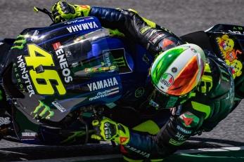 Valentino Rossi during Qualifying in Mugello circuit - gran premio d'italia