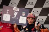 Marc Marquez during Thursday Press conference in Mugello circuit - MotoGP Gran Premio d'Italia