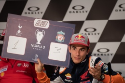 Marc Marquez during Thursday Press conference in Mugello circuit - MotoGP Gran Premio d'Italia
