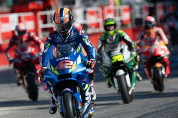 Alex Rins, Spanish rider number 42 for Suzuki Team in MotoGP