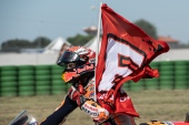 Marc Marquez, Spanish rider and MotoGP World Champion with number 93 for Repsol Honda Team