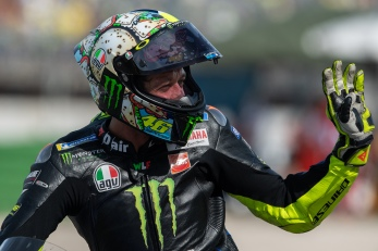 Valentino Rossi, Italian MotoGP Rider number 46 for Yamaha Monster Team