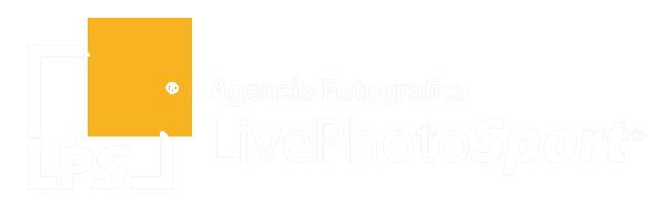 LivePhotoSport Logo Bianco